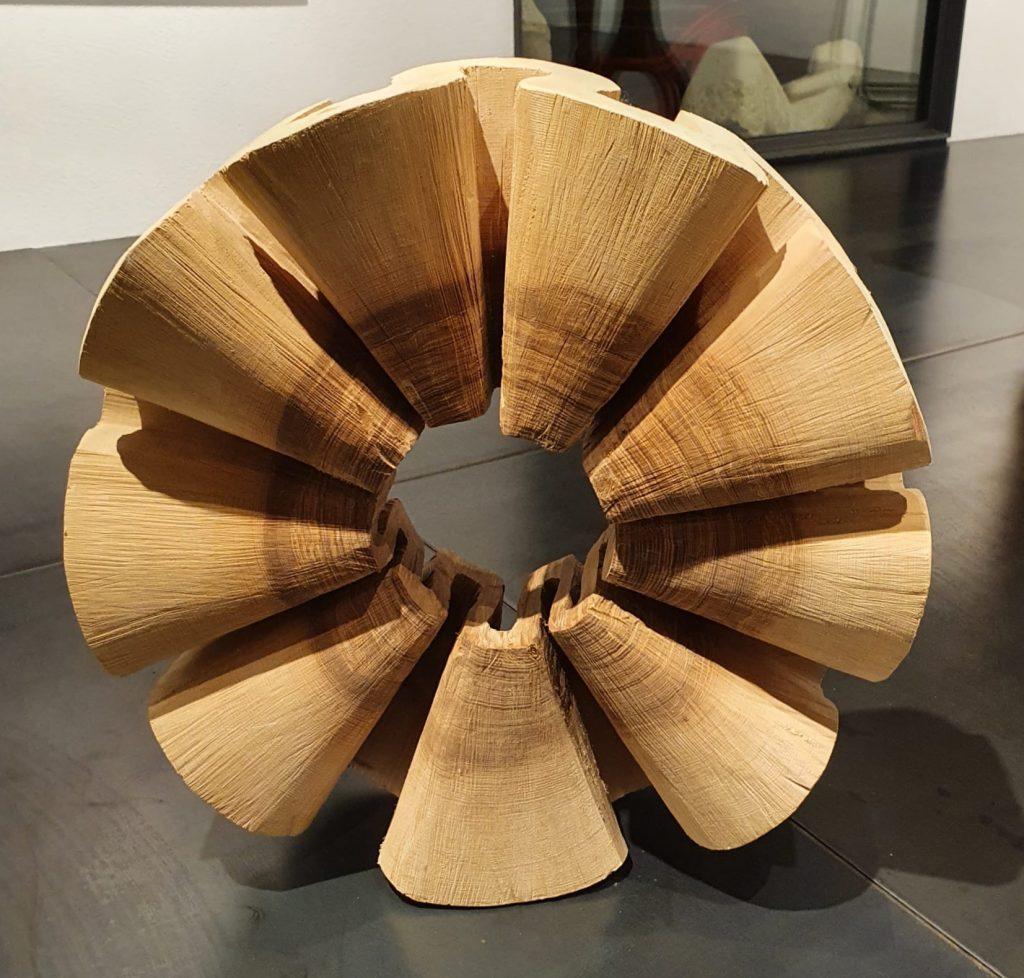 Holzskulpturen, Triennale Bad Ragaz, Anna Schmid