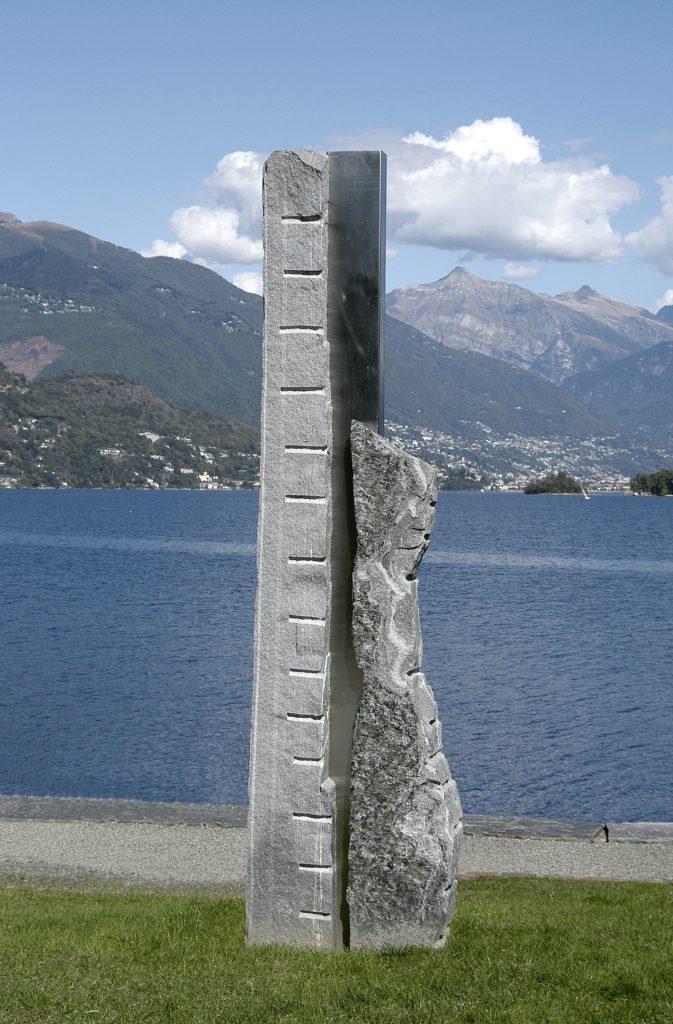 steinskulpturen, Seepromenade Brissago, Skulpturenweg, Ascona, tessiner granit